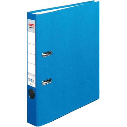 herlitz Ordner maX.file nature plus, Rückenbr.: 50 mm, blau