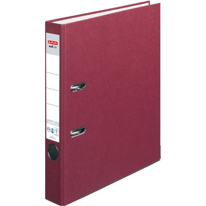 herlitz Ordner maX.file nature plus, Rückenbr.: 50 mm