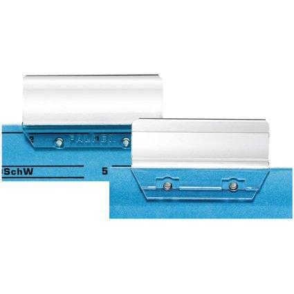 herlitz Vollsichtreiter, Kunststoff, (B)60 mm, transparent