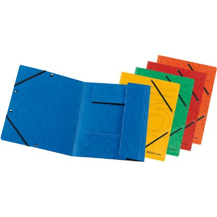 herlitz Eckspannermappe easyorga, DIN A4, farbig sortiert