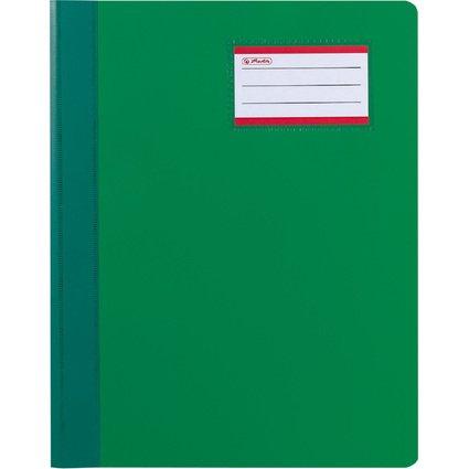 herlitz Schnellhefter Exclusiv, DIN A4, PVC-Folie, grün