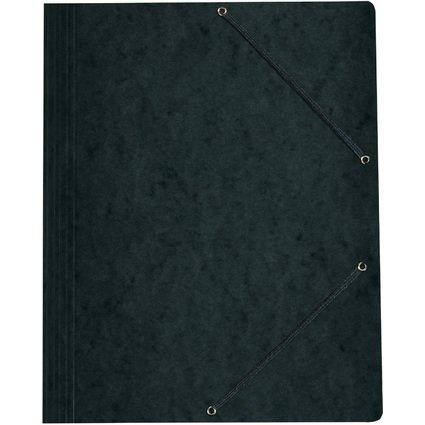 herlitz Eckspannermappe easyorga, DIN A4, schwarz