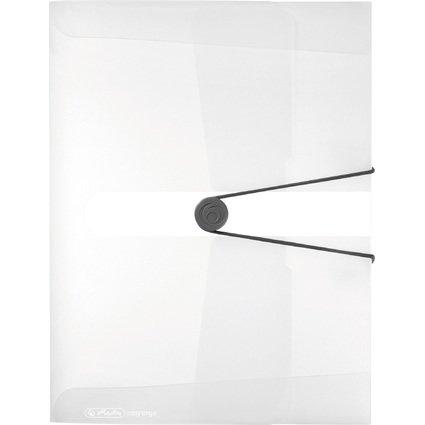 herlitz Sammelbox easy orga to go, DIN A4, weiß transparent