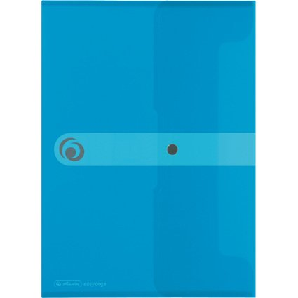 herlitz Dokumententasche easy orga to go, DIN A4, blau