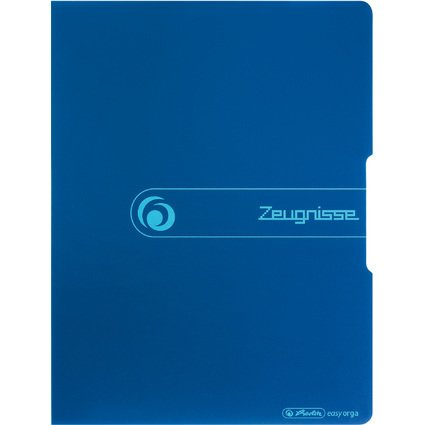 "herlitz Sichtbuch easy orga to go ""Zeugnisse"", dunkelblau"
