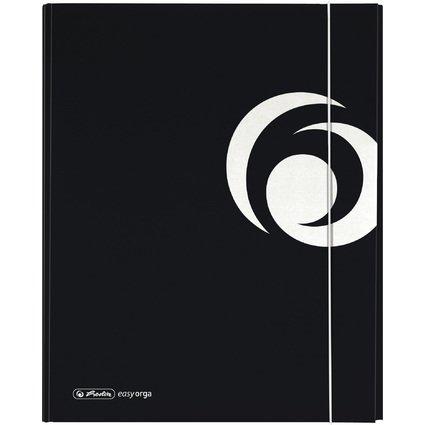 herlitz Ablagebox easy orga XL strong, DIN A4, schwarz