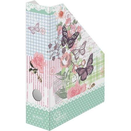 """herlitz Wellpappe-Stehsammler Ladylike """"Butterfly"""", DIN A4"""