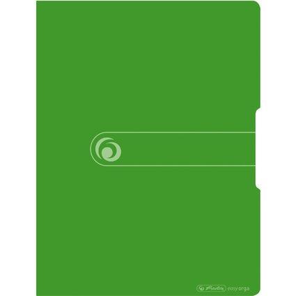 herlitz Sichtbuch easy orga to go, A4, 20 Hüllen, apfel opak