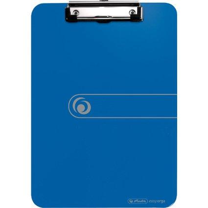 herlitz Klemmbrett easy orga to go, DIN A4, blau opak