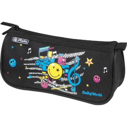 herlitz Schlamper-Rolle SmileyWorld Pop, Polyester