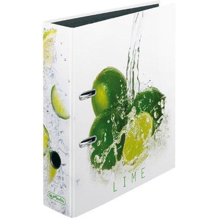 """herlitz Motivordner maX.file Fresh Fruit """"Limette"""", DIN A4"""