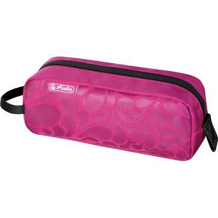 """herlitz Stifte-Tasche be.bag Quattro """"Ornament pink"""""""
