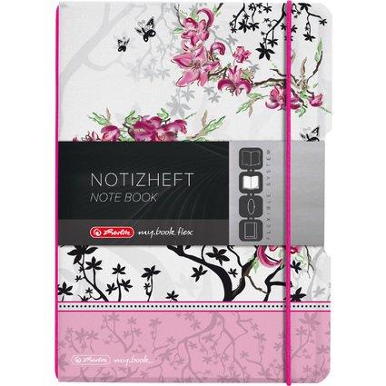 herlitz Notizheft my.book flex Ladylike, A5, PP-Cover
