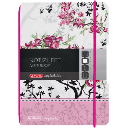 herlitz Notizheft my.book flex Ladylike, A6, PP-Cover