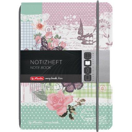 herlitz Notizheft my.book flex Ladylike, A6, PP-Cover