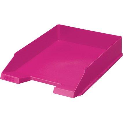 "herlitz Briefablage Color-Blocking ""Cool Pink"", DIN A4"