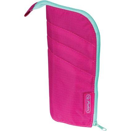 herlitz Schlamper-Rolle my.case, Farbe: pink