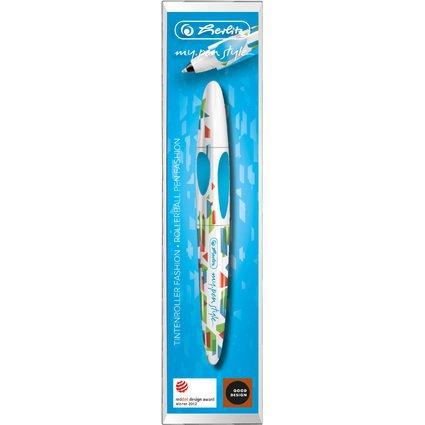 "herlitz Tintenroller my.pen style FASHION ""Ocean Blue"""