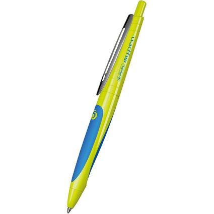 herlitz Gelschreiber my.pen, grün/blau