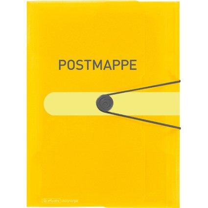 herlitz Postmappe easy orga to go, PP-Folie, DIN A4, gelb