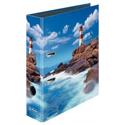 herlitz Motivordner maX.file Leuchtturm, DIN A4