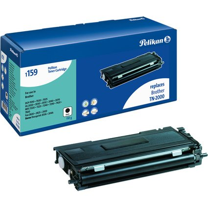 Pelikan Toner 1159 ersetzt brother TN-2000, schwarz