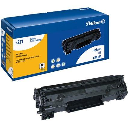 Pelikan Toner 1211 ersetzt hp CB436A, schwarz