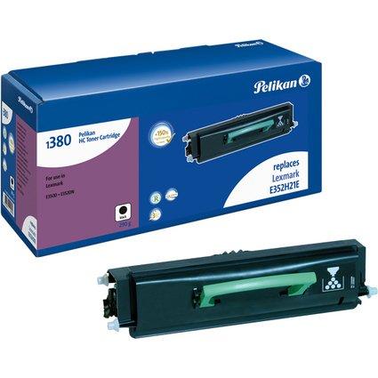 Pelikan Toner 1380 ersetzt LEXMARK E352H11E, schwarz HC