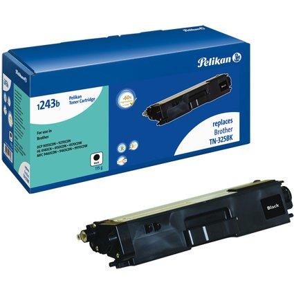 Pelikan Toner 1243b ersetzt brother TN-325BK, schwarz