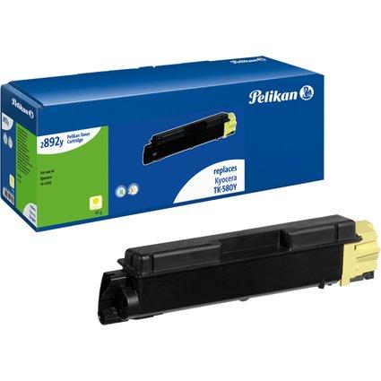 Pelikan Toner 2892c ersetzt KYOCERA/mita TK-580Y, gelb