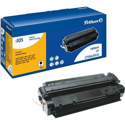 Pelikan Toner 1105 ersetzt hp C7115A/EP-25/5773A004, schwa