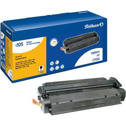 Pelikan Toner 1105 ersetzt hp C7115X, schwarz HC