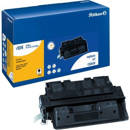 Pelikan Toner 1104 ersetzt hp C8061X, schwarz, HC