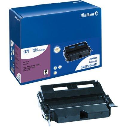 Pelikan Toner 1171 ersetzt LEXMARK 12A6835, schwarz HC