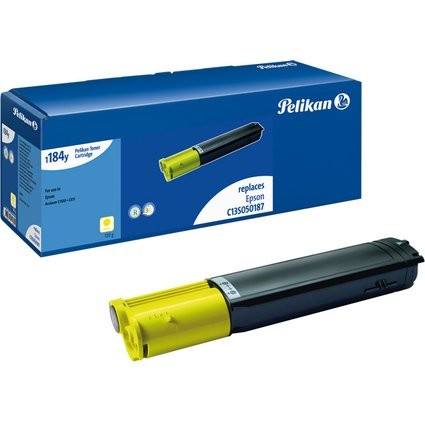 Pelikan Toner 1184 ersetzt EPSON C13S050187, gelb