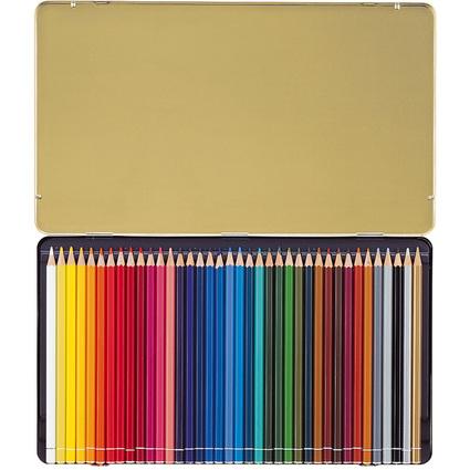STABILO Buntstifte Original, sechseckig, 38er Metall-Etui