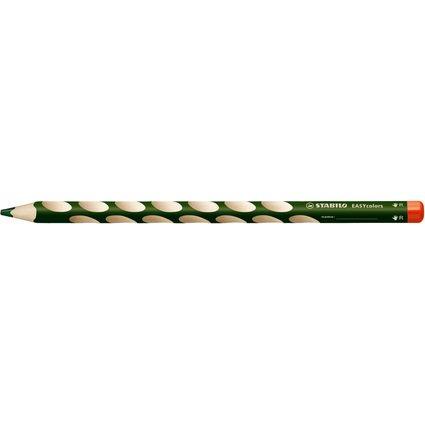 STABILO Dreikant-Buntstift EASYcolors, laubgrün