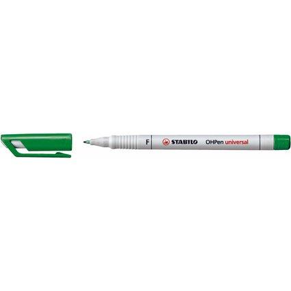 STABILO Folienstift OHPen universal, wasserlöslich, grün