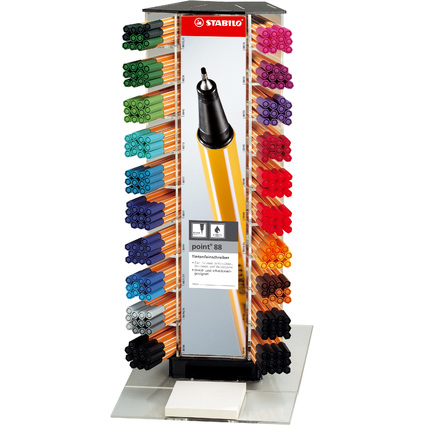 STABILO Fineliner point 88, 240er Kunststoff-Display