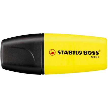 STABILO Textmarker BOSS MINI, gelb