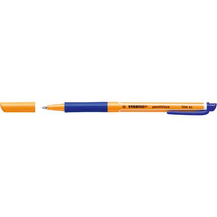 STABILO Gel-Roller pointVisco, Strichstärke: 0,5 mm, blau