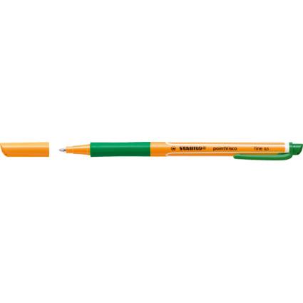 STABILO Gel-Roller pointVisco, Strichstärke: 0,5 mm, grün