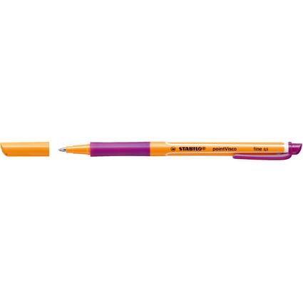 STABILO Gel-Roller pointVisco, Strichstärke: 0,5 mm, lila