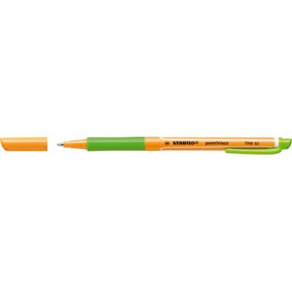 STABILO Gel-Roller pointVisco, Strichstärke: 0,5 mm,lindgrün