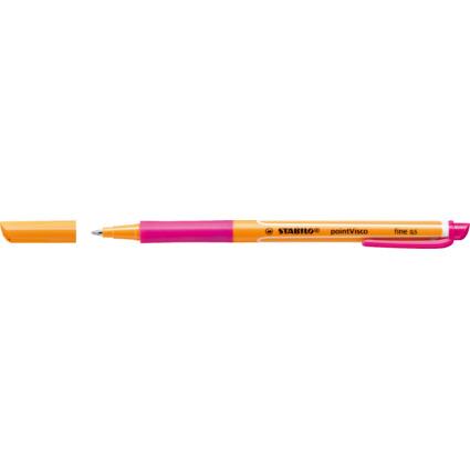 STABILO Gel-Roller pointVisco, Strichstärke: 0,5 mm, pink