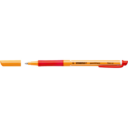 STABILO Gel-Roller pointVisco, Strichstärke: 0,5 mm, rot