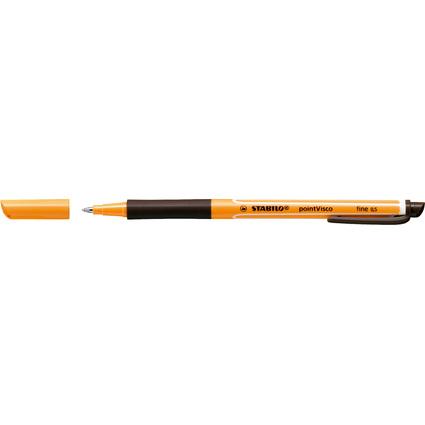 STABILO Gel-Roller pointVisco, Strichstärke: 0,5 mm, schwarz