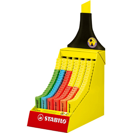 STABILO Textmarker BOSS ORIGINAL, 120er Karton-Display