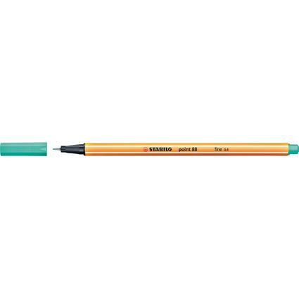 STABILO Fineliner point 88, Strichstärke: 0,4 mm, eisgrün