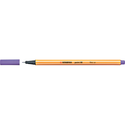 STABILO Fineliner point 88, Strichstärke: 0,4 mm, violett